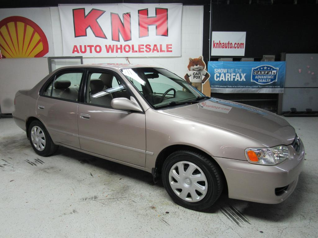 2002 TOYOTA COROLLA CE for sale at KNH Auto Sales