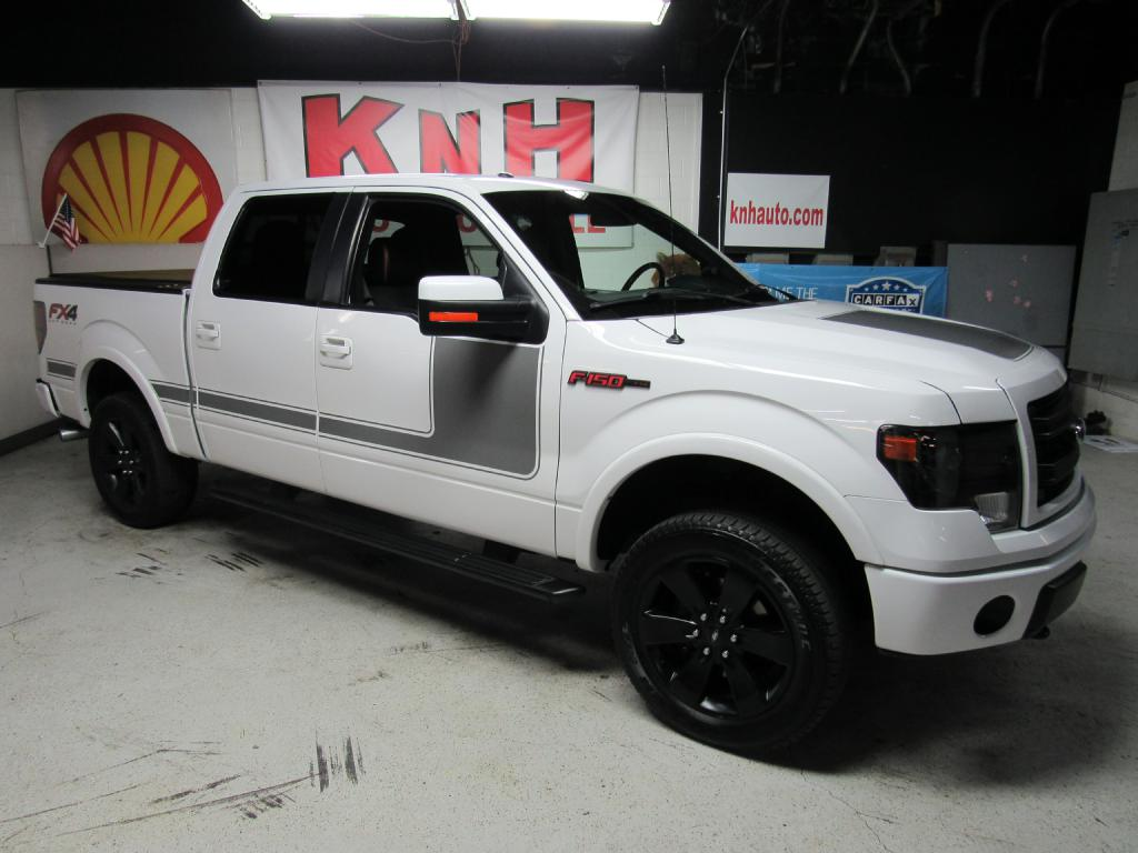 2013 FORD F150 SUPERCREW for sale at KNH Auto Sales