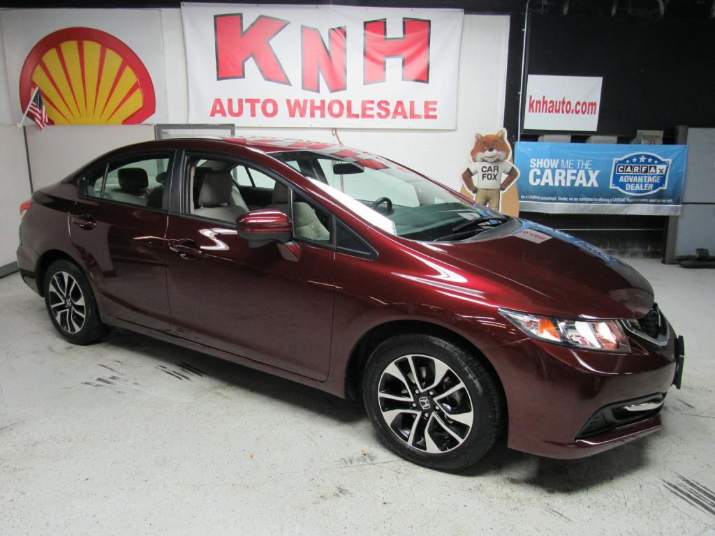 2015 HONDA CIVIC EX for sale at KNH Auto Sales