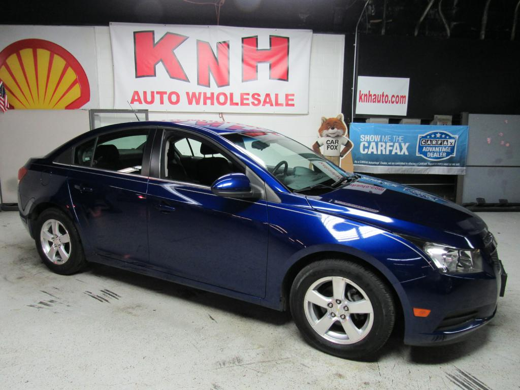 2012 CHEVROLET CRUZE LT for sale at KNH Auto Sales