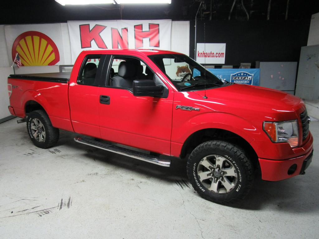 2012 FORD F150 SUPER CAB for sale at KNH Auto Sales