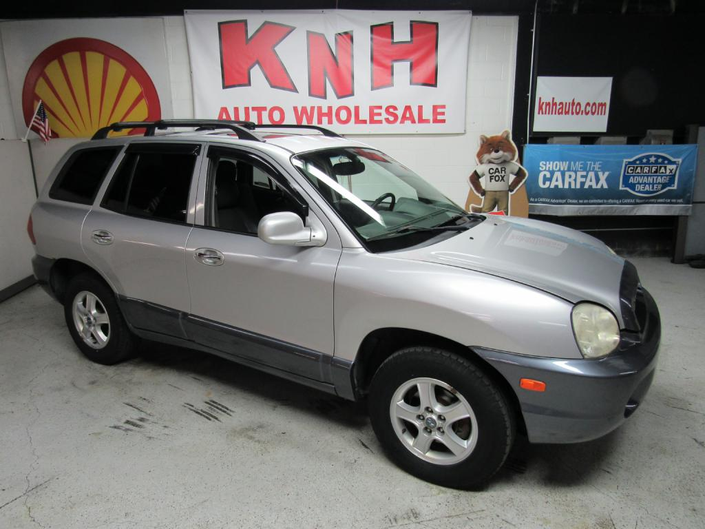 2003 HYUNDAI SANTA FE GLS for sale at KNH Auto Sales