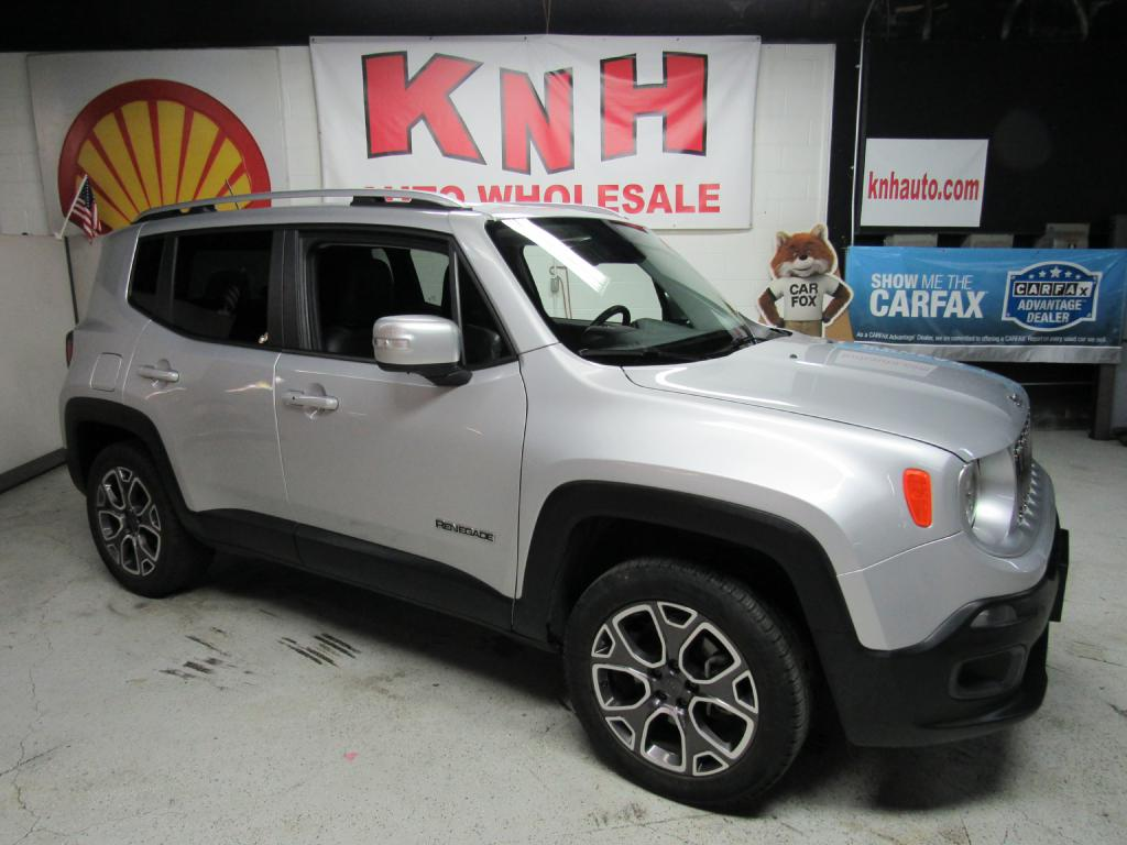 2015 JEEP RENEGADE LIMITED for sale at KNH Auto Sales