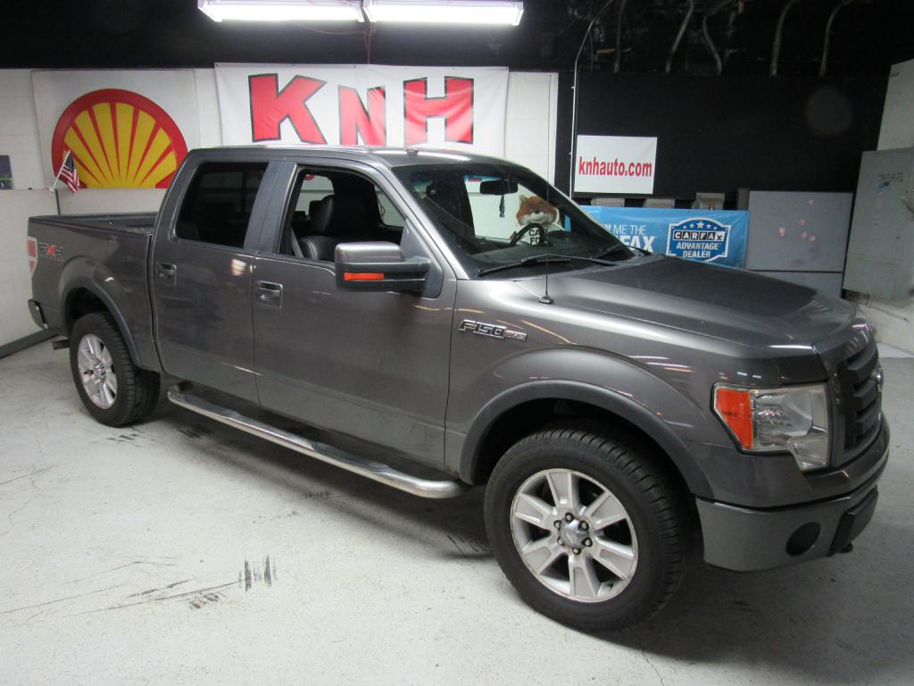 2009 FORD F150 SUPERCREW FX4 for sale at KNH Auto Sales
