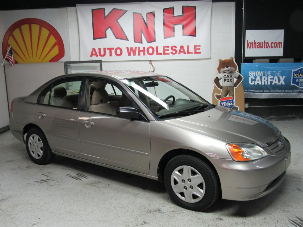 2003 HONDA CIVIC LX for sale at KNH Auto Sales