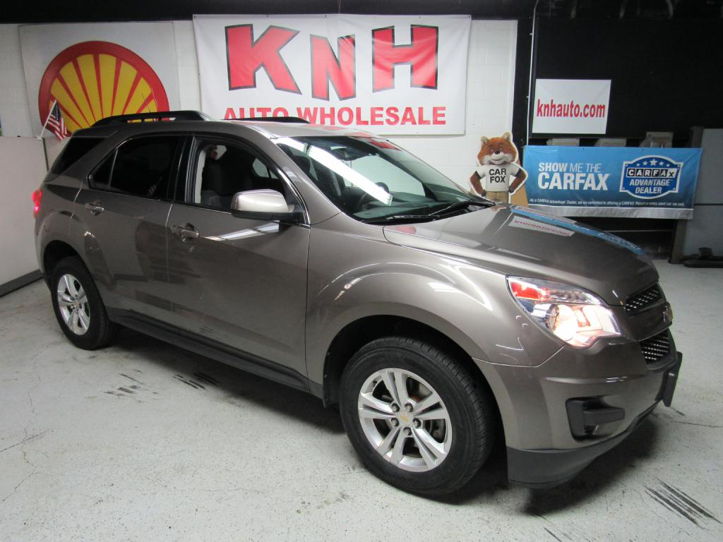 2012 CHEVROLET EQUINOX LT for sale at KNH Auto Sales
