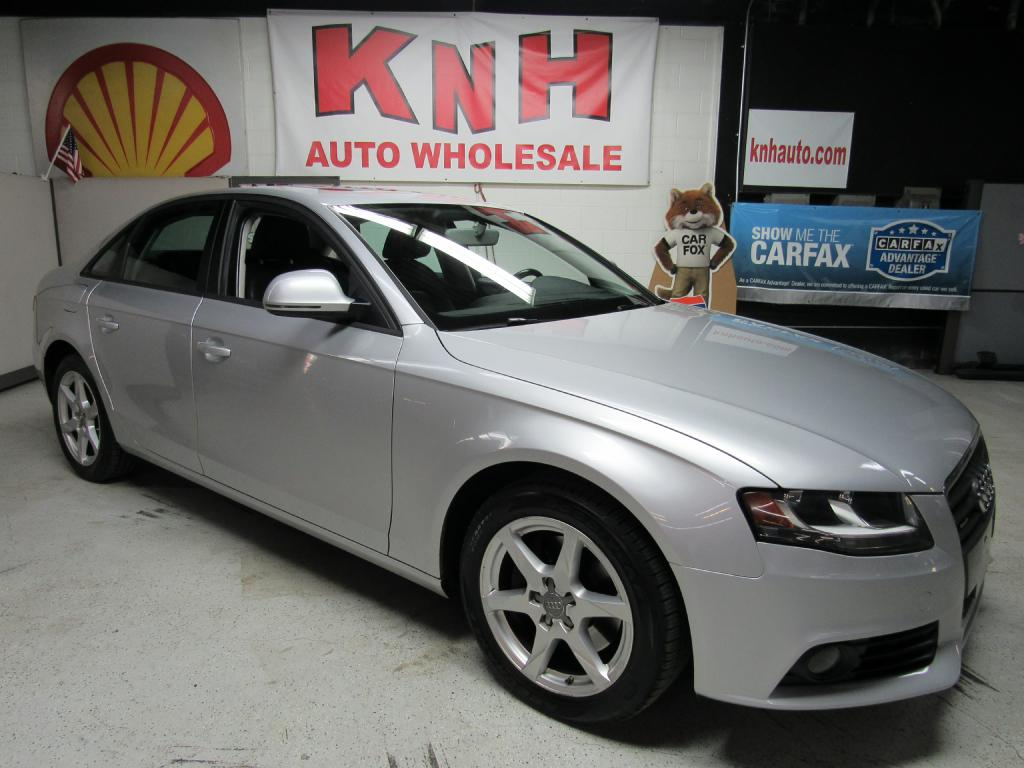2009 AUDI A4 2.0T QUATTRO for sale at KNH Auto Sales