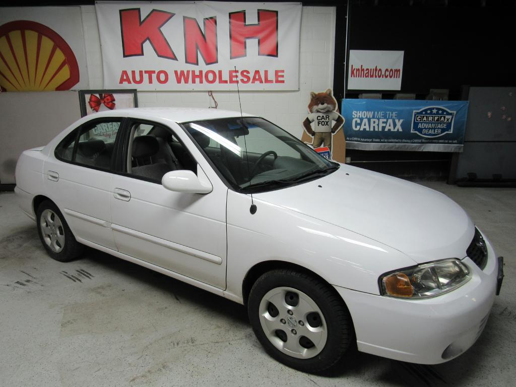 2003 NISSAN SENTRA XE for sale at KNH Auto Sales