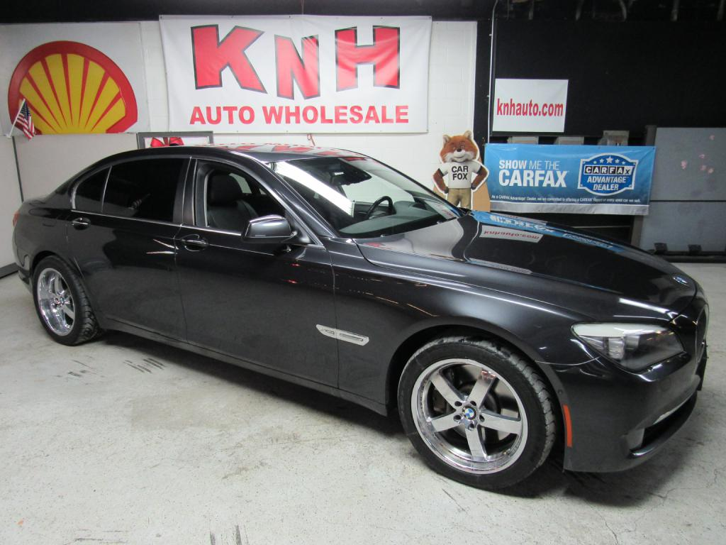 2012 BMW 750 LXI for sale at KNH Auto Sales