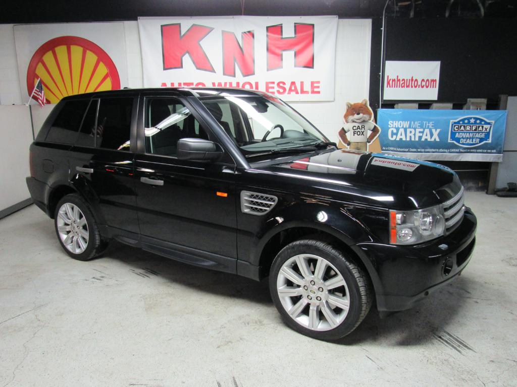 2008 LAND ROVER RANGE ROVER SPO SUPERCHARGED for sale at KNH Auto Sales