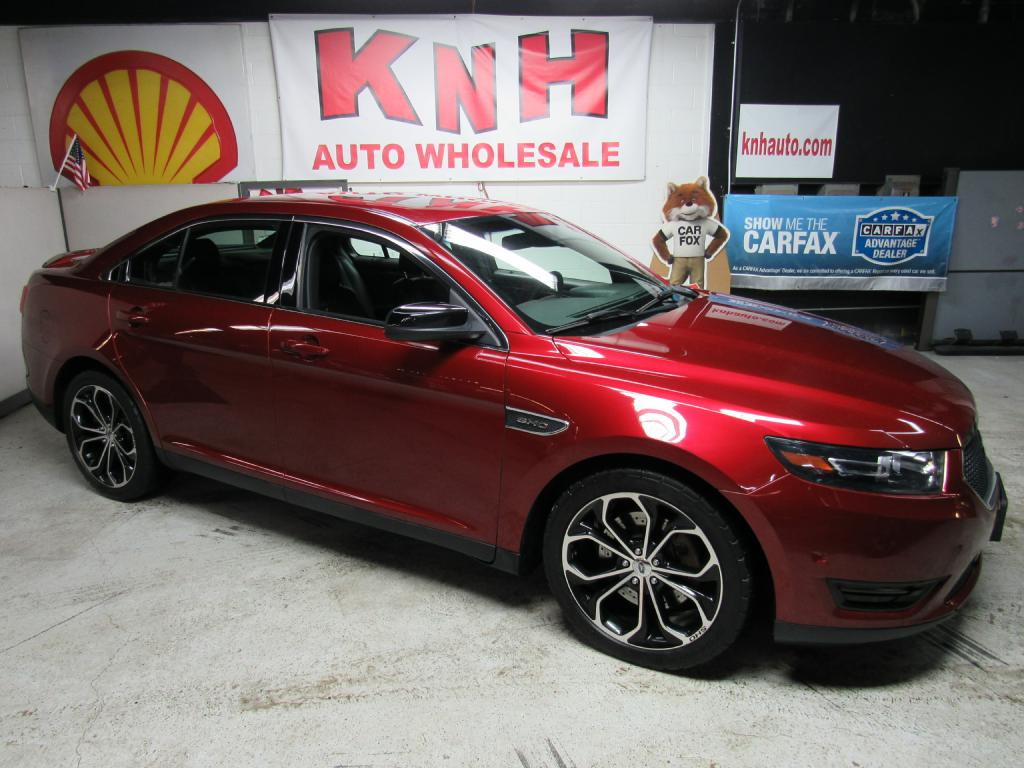 2013 FORD TAURUS SHO for sale at KNH Auto Sales