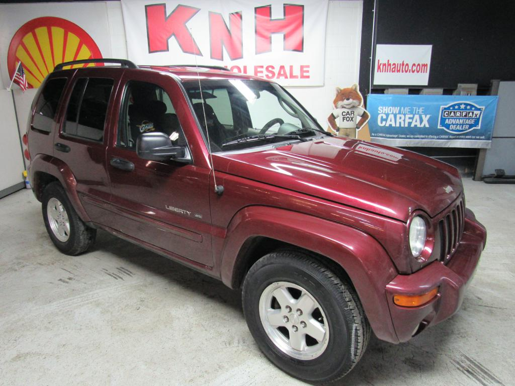 2003 JEEP LIBERTY LIMITED for sale at KNH Auto Sales