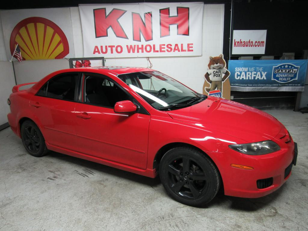 2008 MAZDA 6 I for sale at KNH Auto Sales