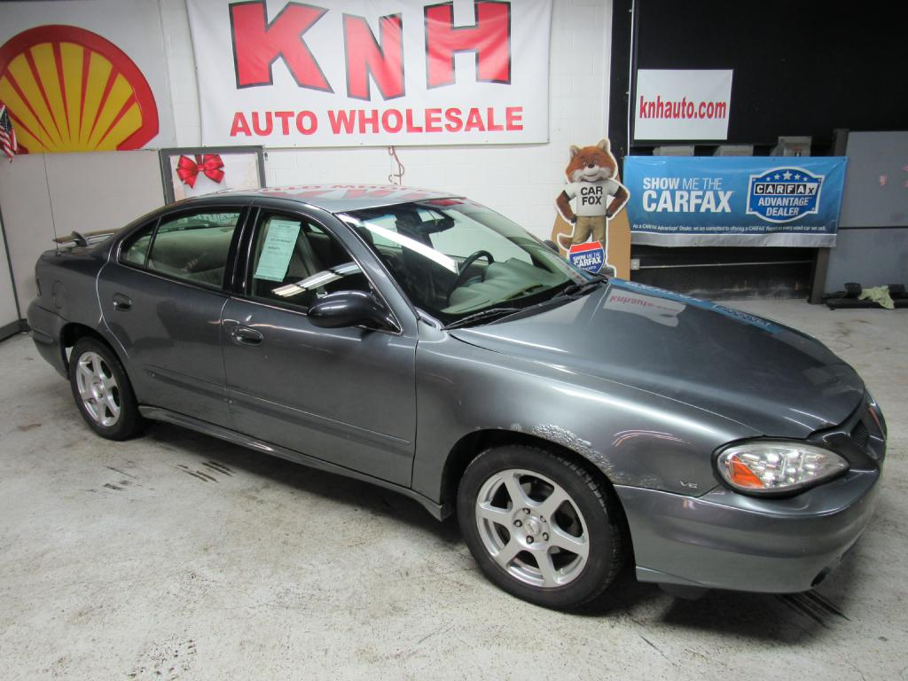 2005 PONTIAC GRAND AM SE for sale at KNH Auto Sales
