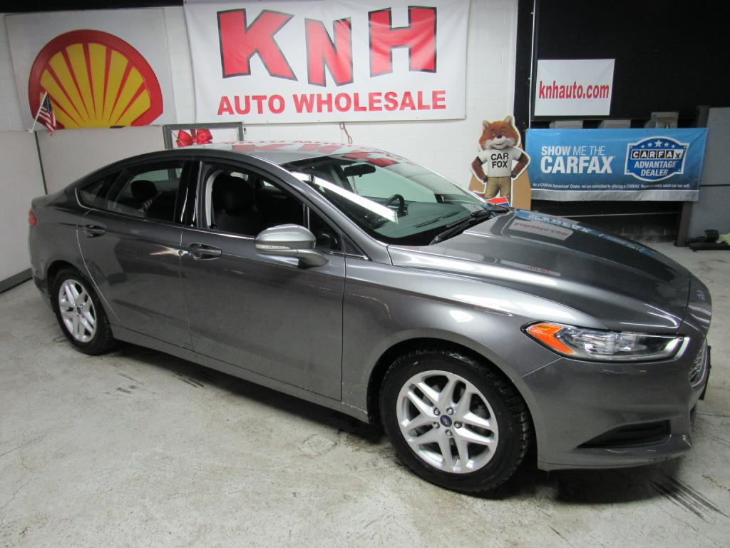 2014 FORD FUSION SE for sale at KNH Auto Sales