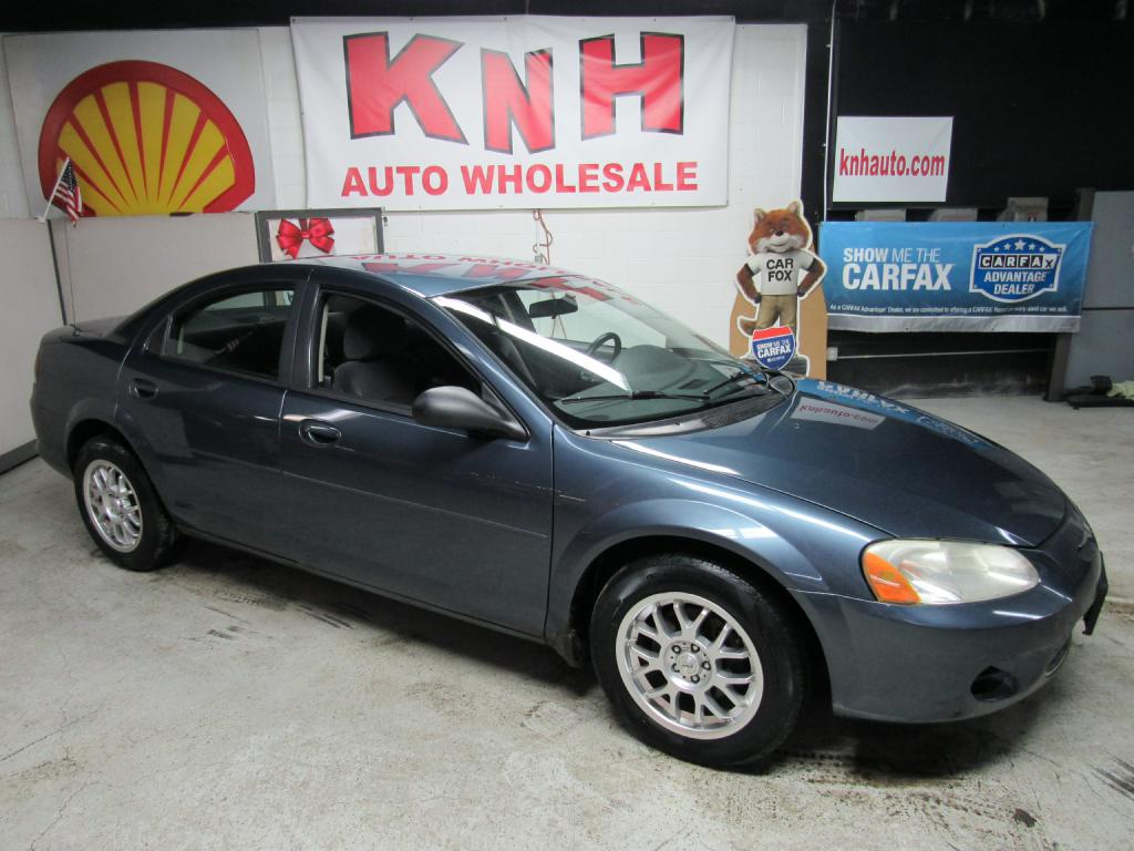 2003 CHRYSLER SEBRING LX for sale at KNH Auto Sales