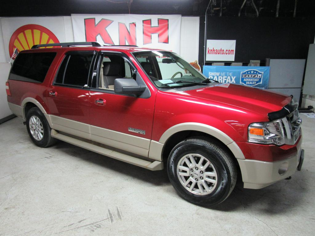 2007 FORD EXPEDITION EL EDDIE BAUER for sale at KNH Auto Sales