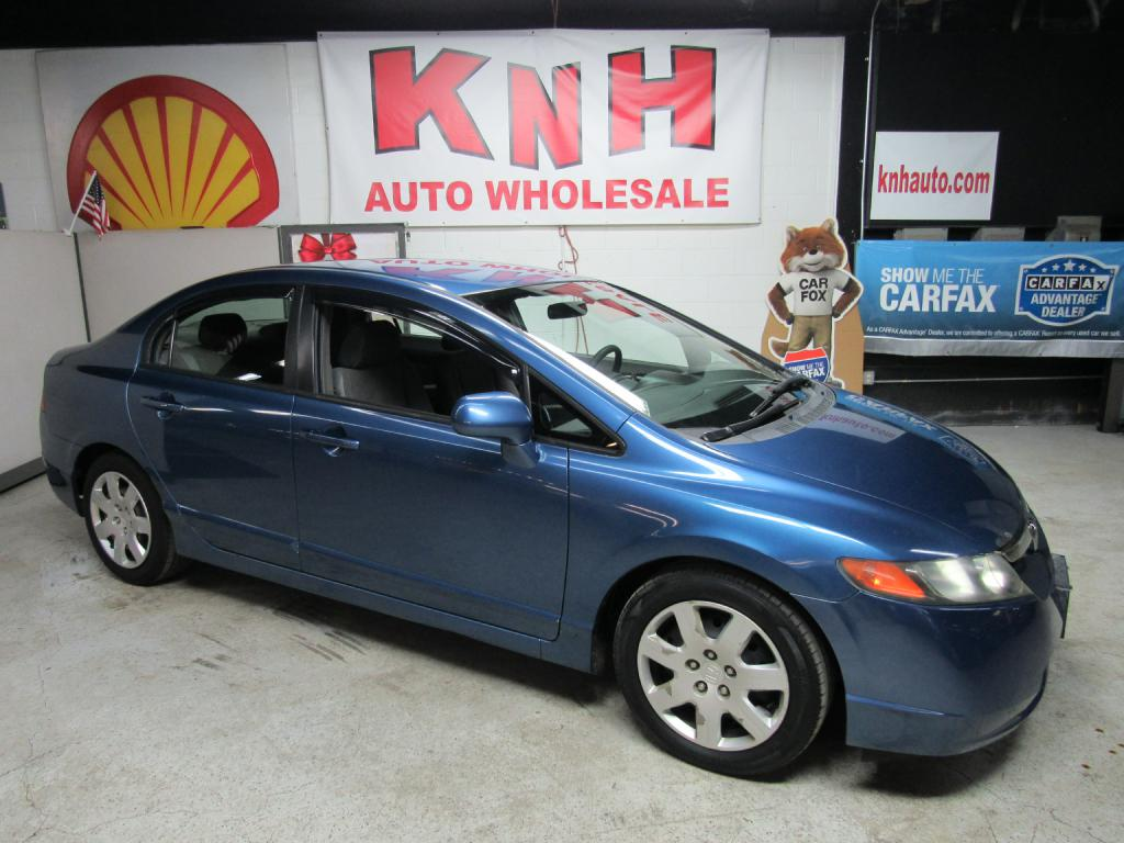 2006 HONDA CIVIC LX for sale at KNH Auto Sales