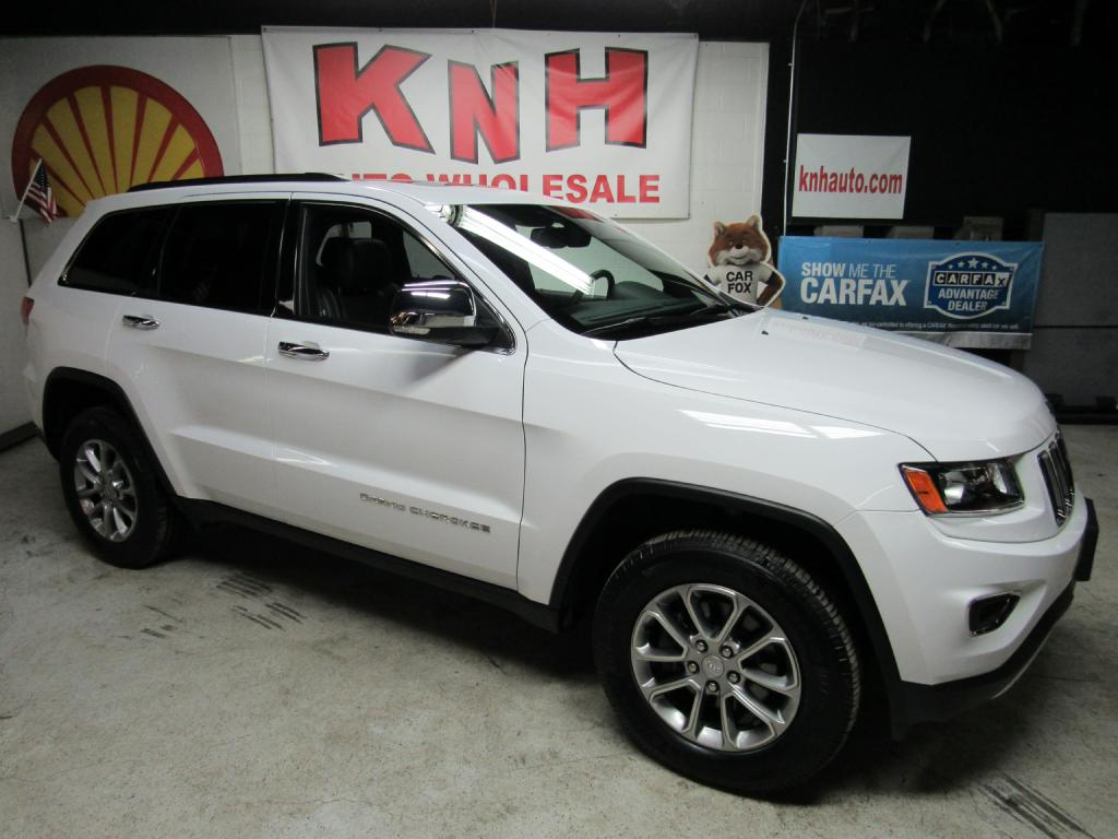 2016 JEEP GRAND CHEROKEE LIMITED for sale at KNH Auto Sales