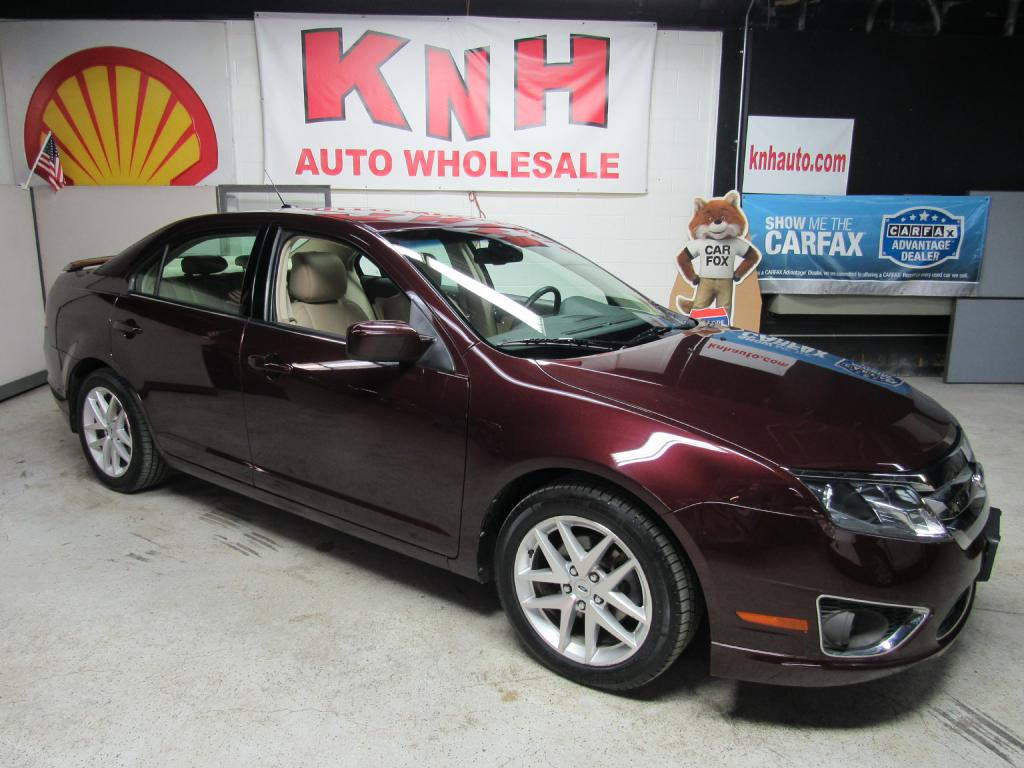 2012 FORD FUSION SEL for sale at KNH Auto Sales