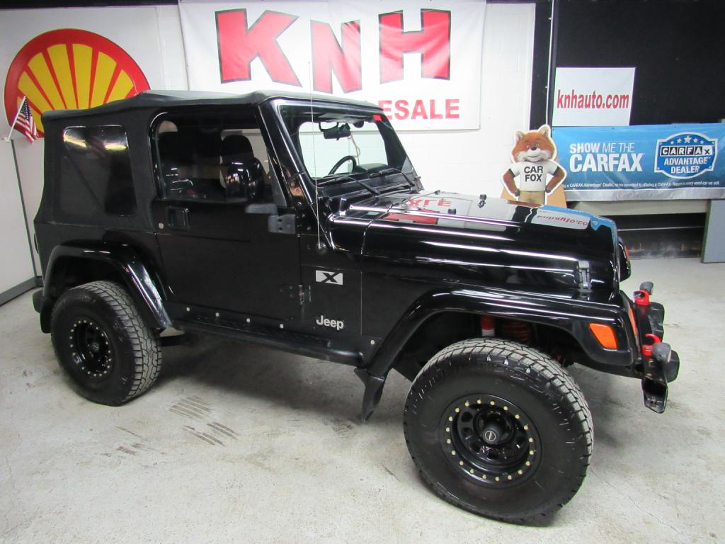 2004 JEEP WRANGLER X for sale at KNH Auto Sales