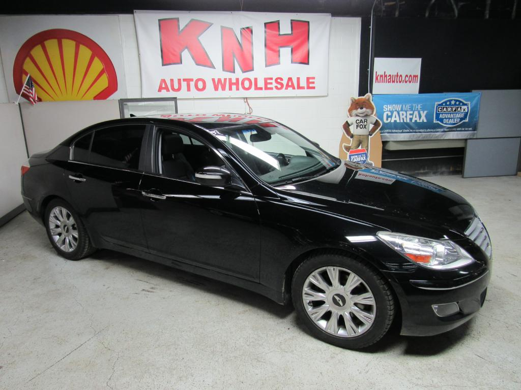 2010 HYUNDAI GENESIS 3.8L for sale at KNH Auto Sales