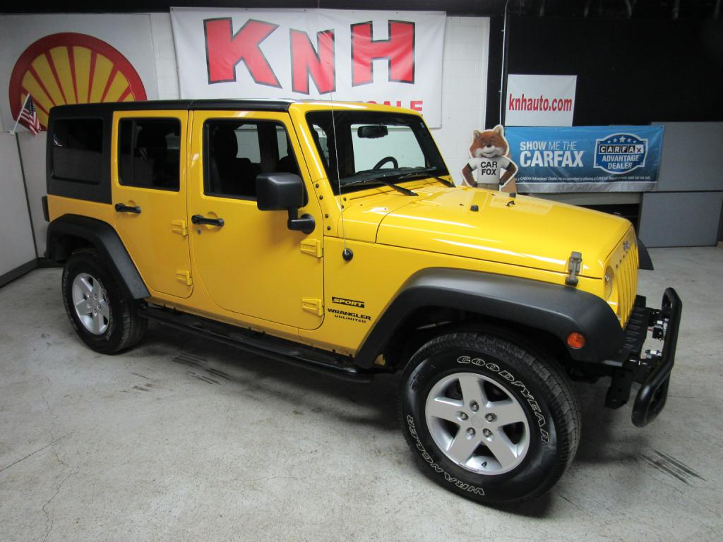 2015 JEEP WRANGLER UNLIMI SPORT for sale at KNH Auto Sales