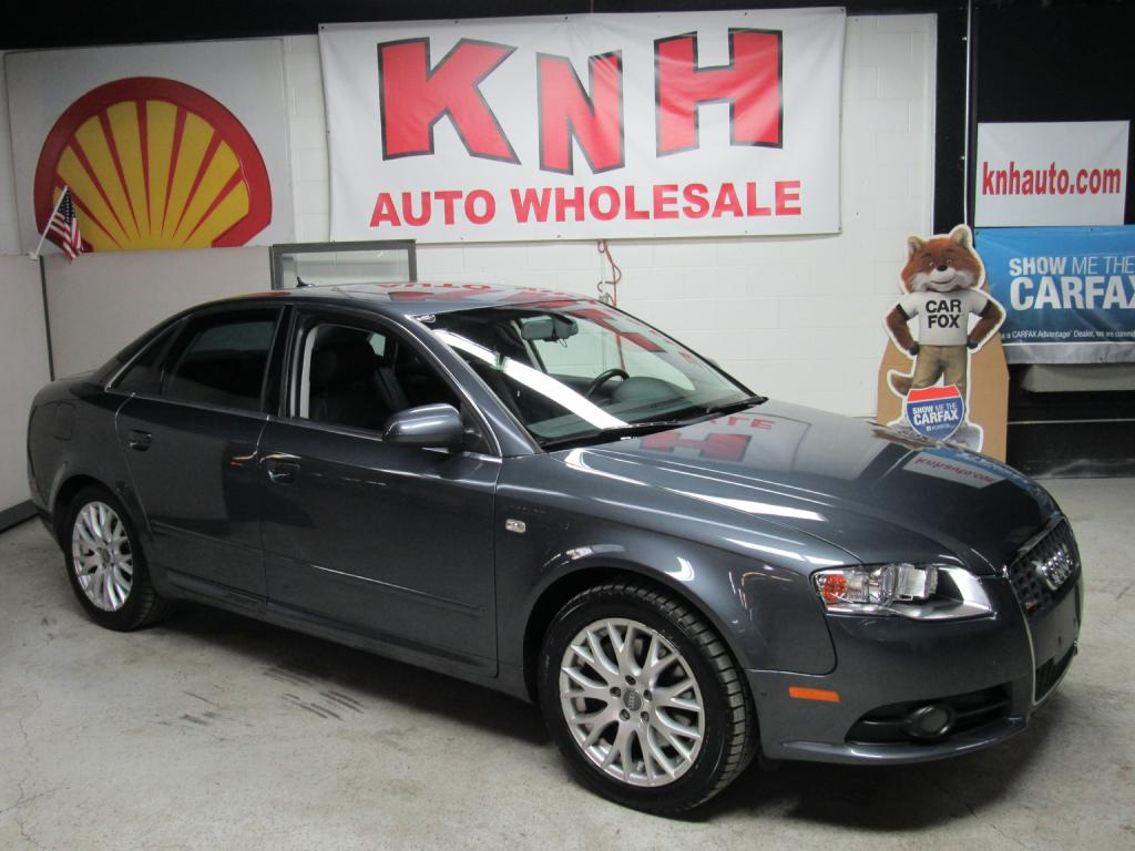 2008 AUDI A4 2.0T QUATTRO for sale at KNH Auto Sales