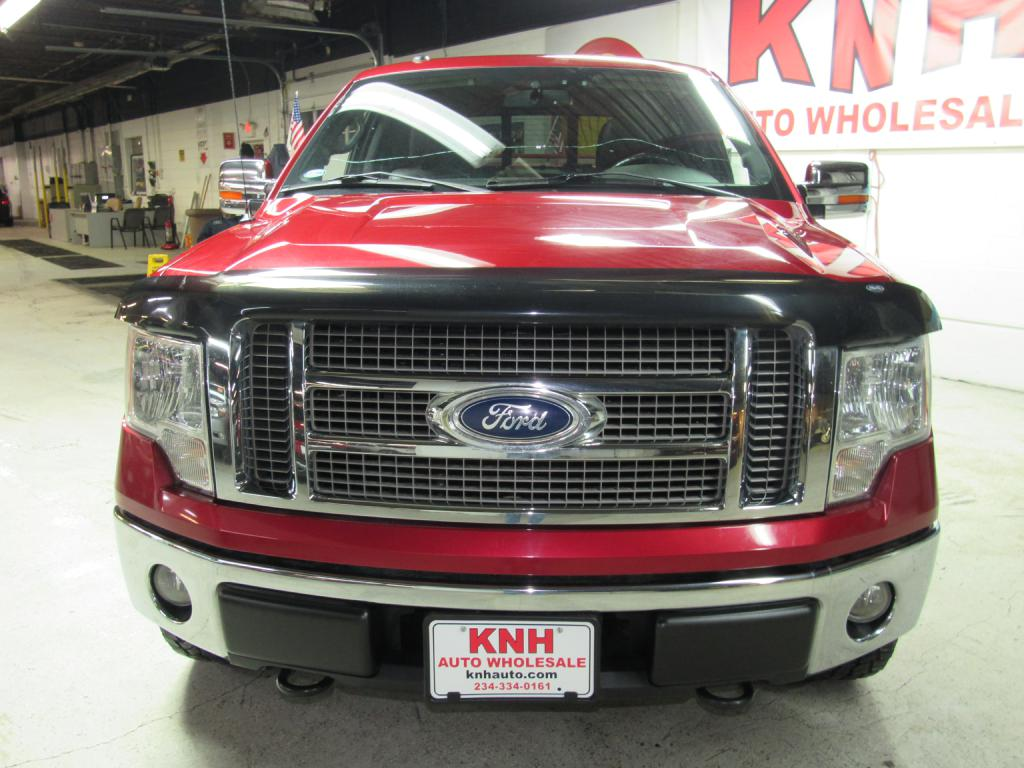 2010 FORD F150 SUPERCREW for sale at KNH Auto Sales