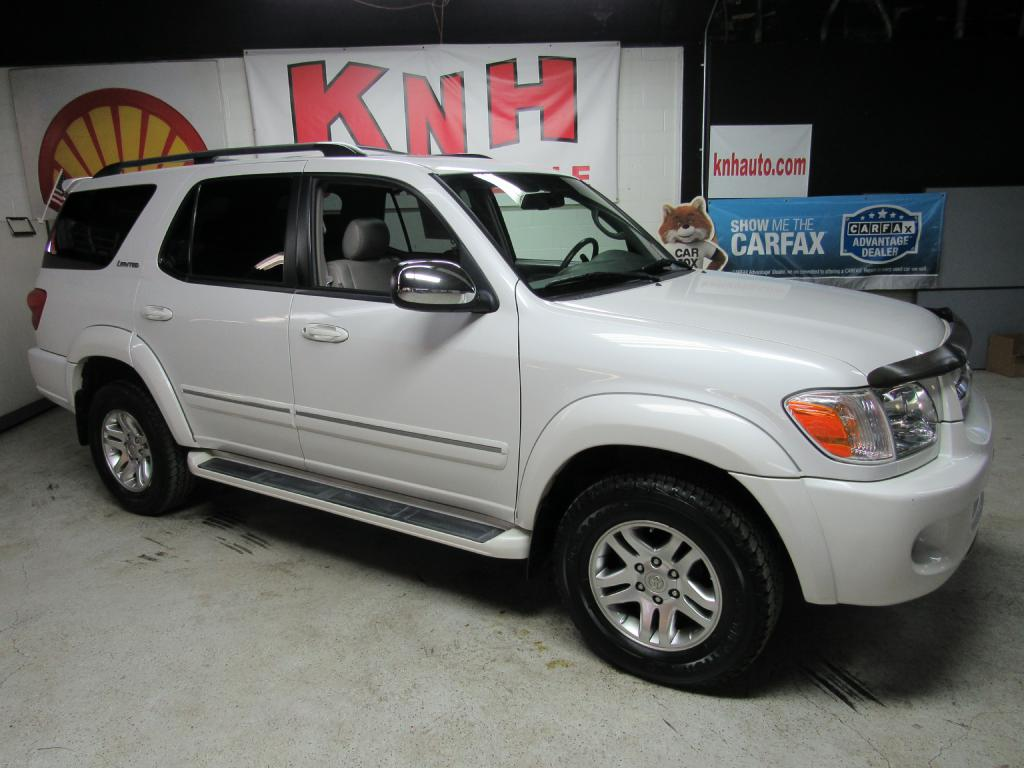 2007 TOYOTA SEQUOIA LIMITED for sale at KNH Auto Sales