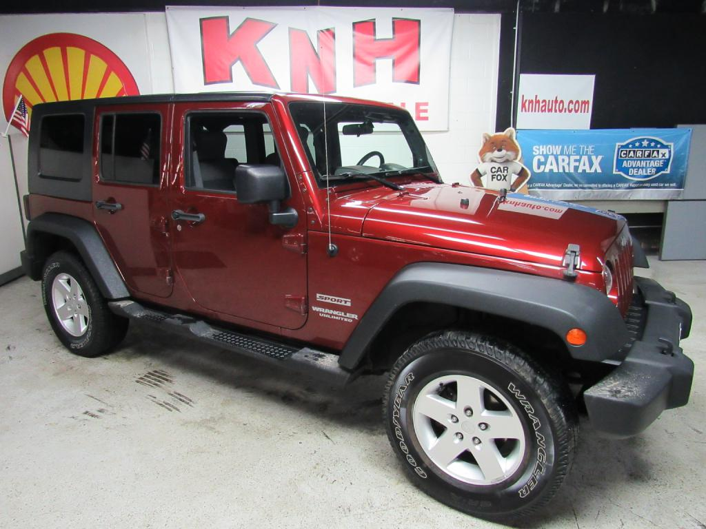 2010 JEEP WRANGLER UNLIMI SPORT for sale at KNH Auto Sales