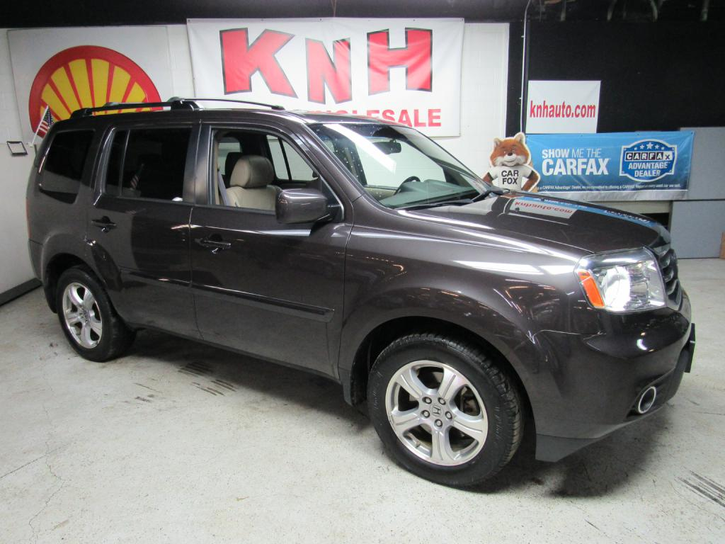 2012 HONDA PILOT EXL for sale at KNH Auto Sales