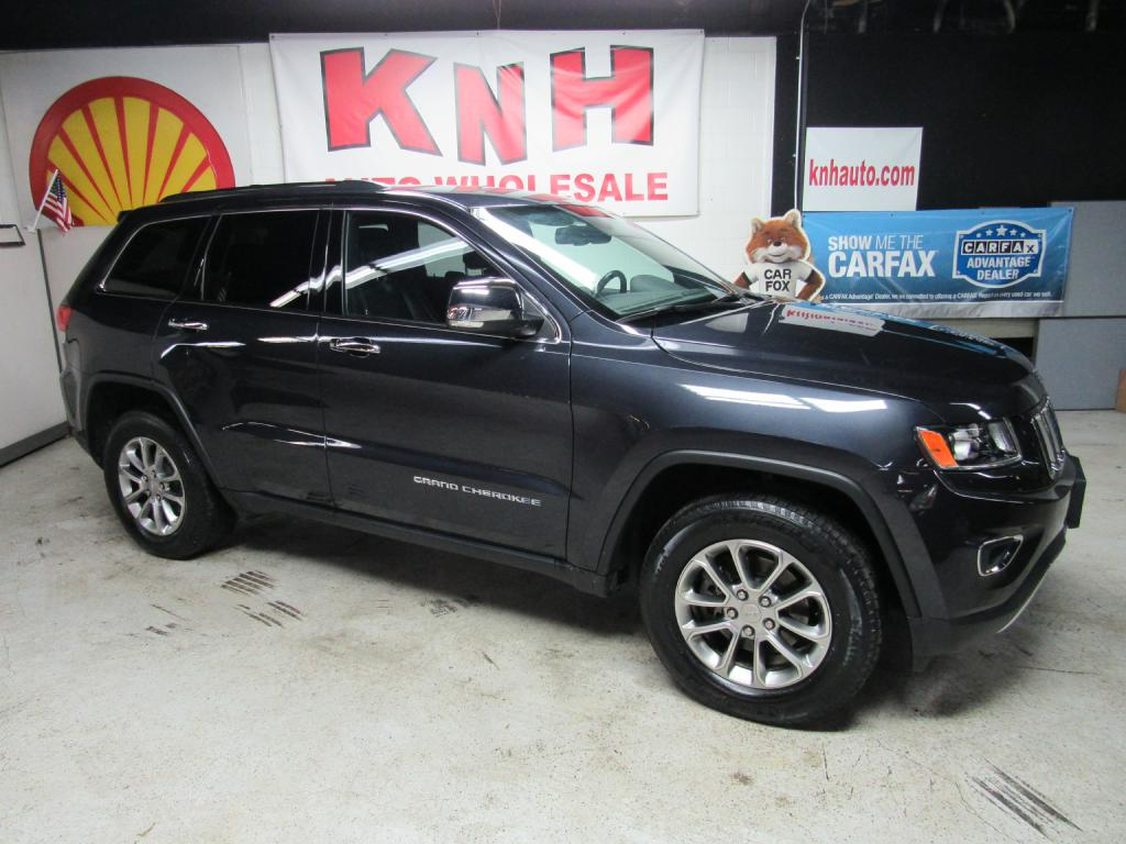 2015 JEEP GRAND CHEROKEE LIMITED for sale at KNH Auto Sales
