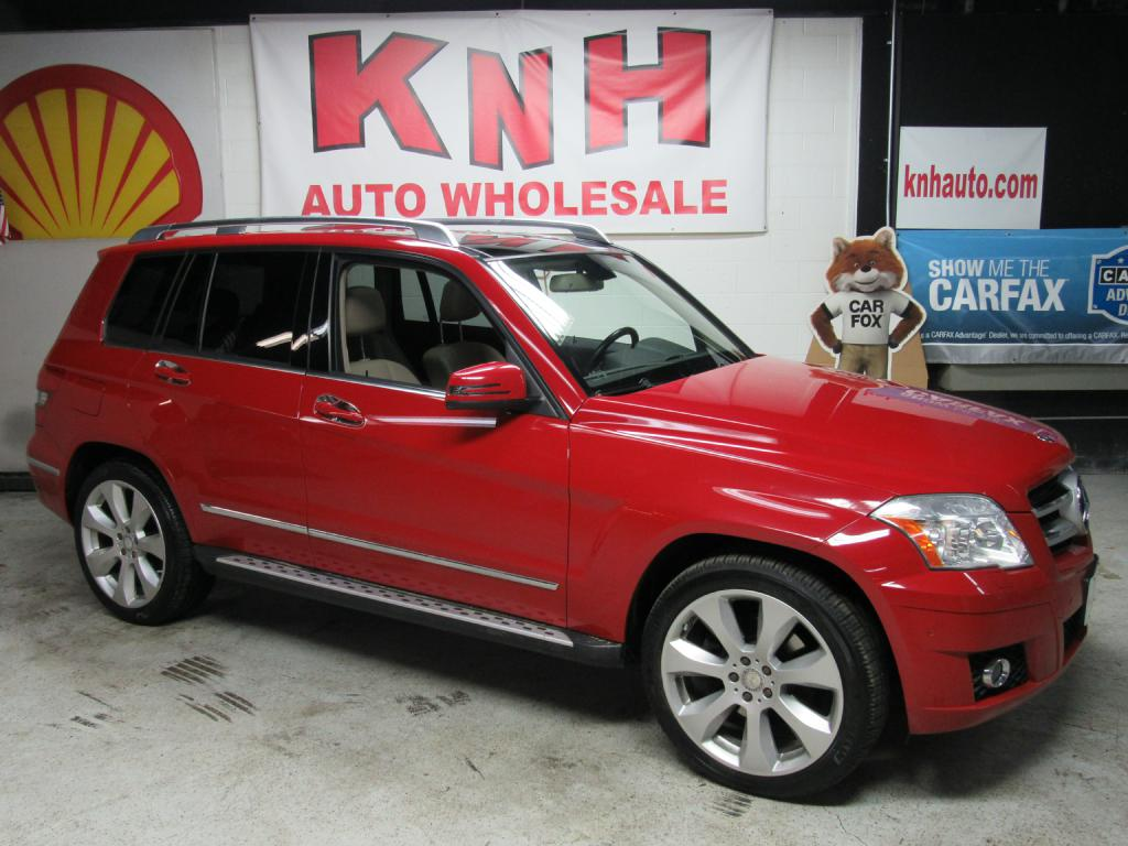 2010 MERCEDES-BENZ GLK 350 4MATIC for sale at KNH Auto Sales