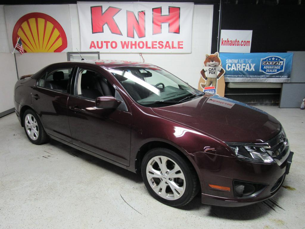 2012 FORD FUSION SE for sale at KNH Auto Sales