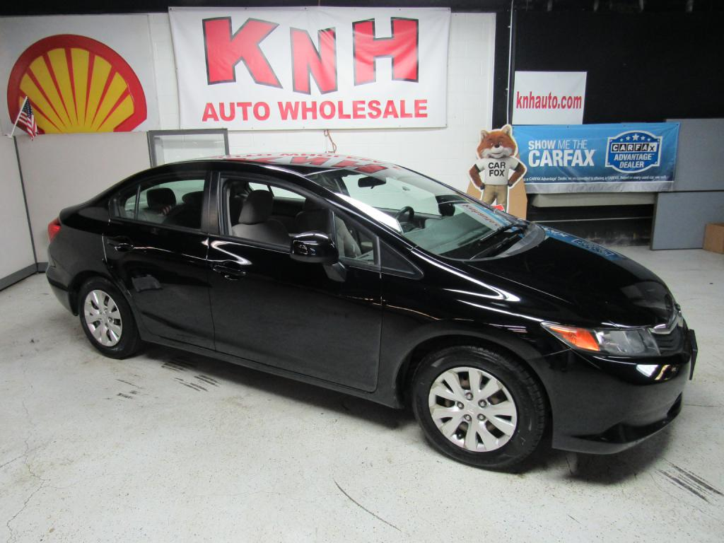 2012 HONDA CIVIC LX for sale at KNH Auto Sales