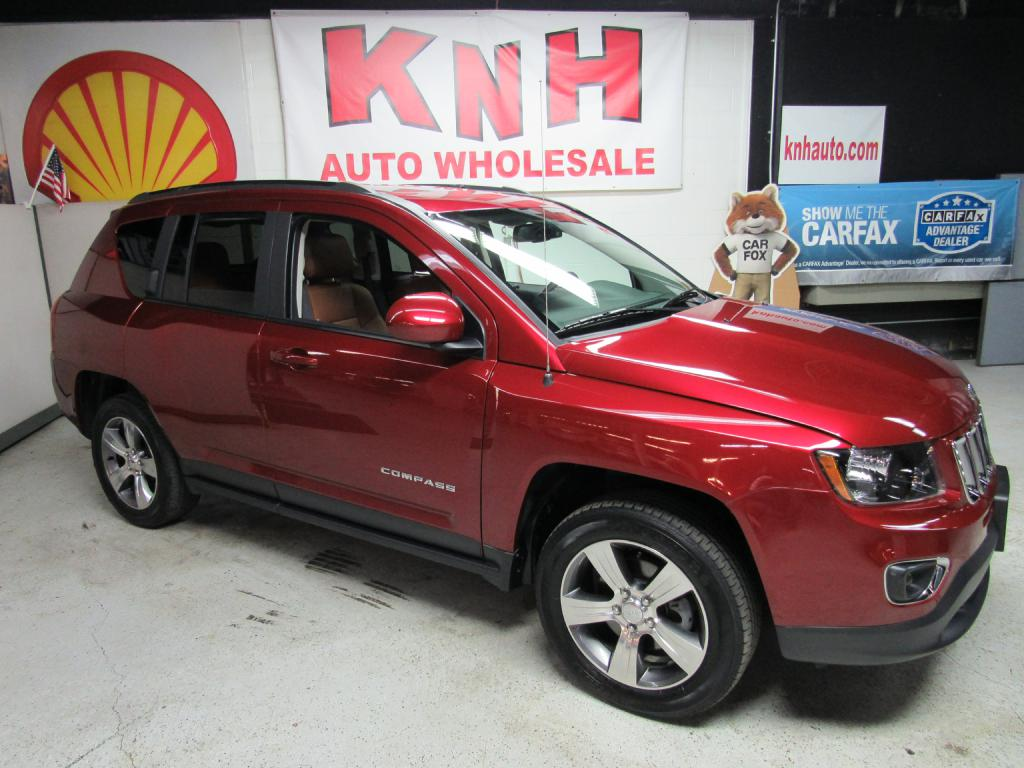 2016 JEEP COMPASS LATITUDE for sale at KNH Auto Sales