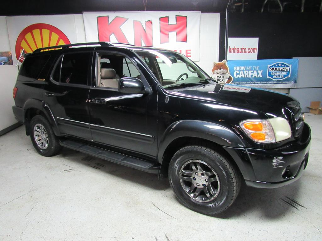 2003 TOYOTA SEQUOIA LIMITED for sale at KNH Auto Sales