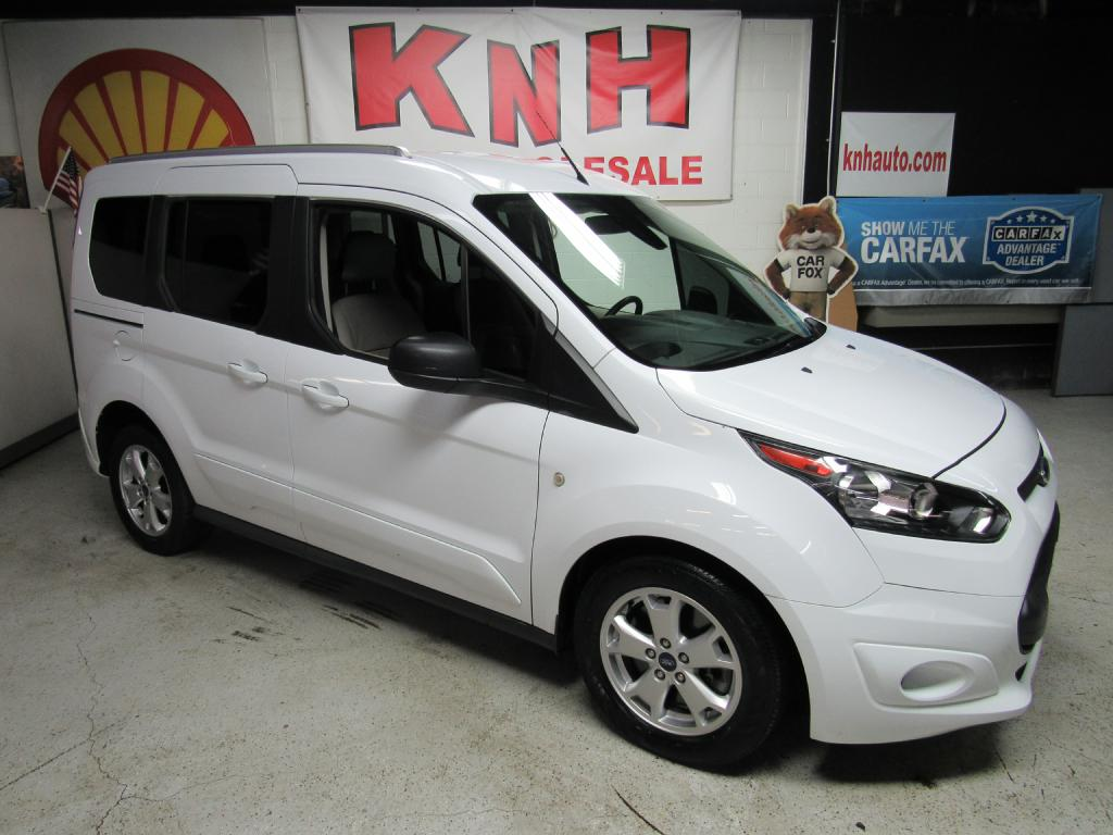 2015 FORD TRANSIT CONNECT XLT for sale at KNH Auto Sales