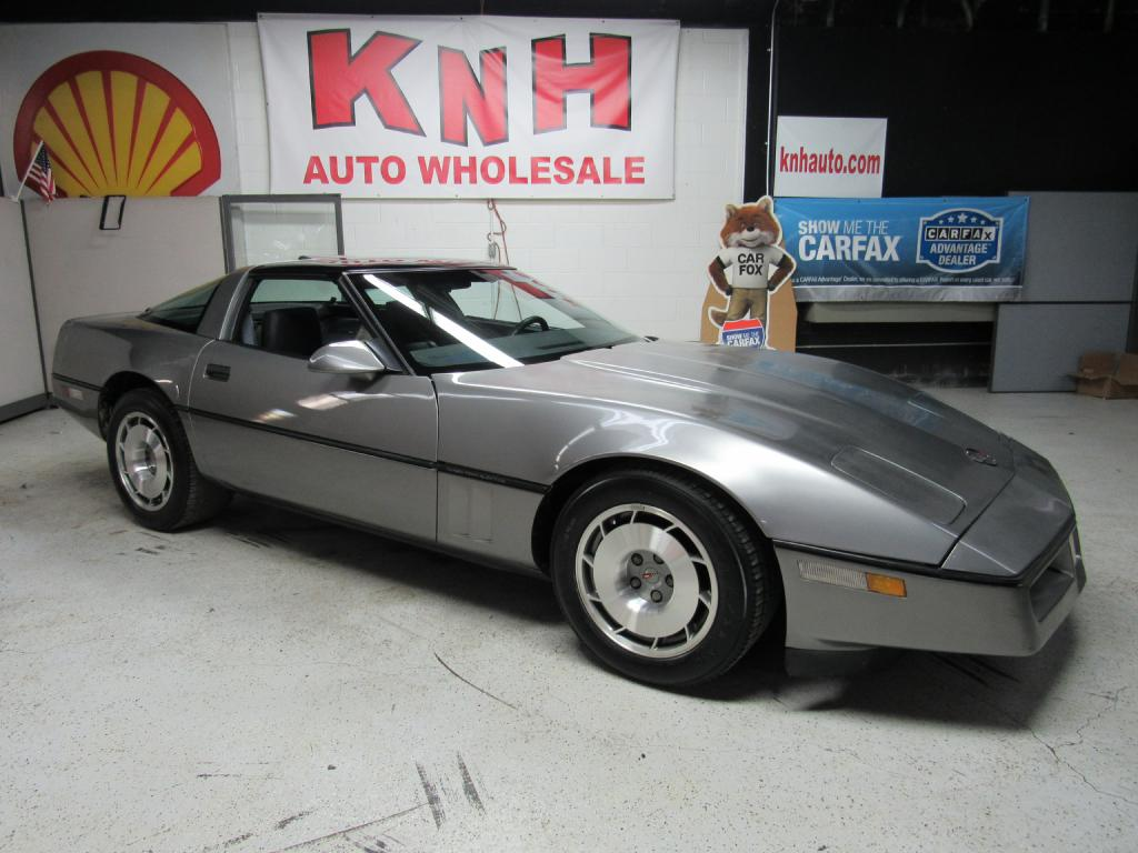1987 CHEVROLET CORVETTE  for sale at KNH Auto Sales