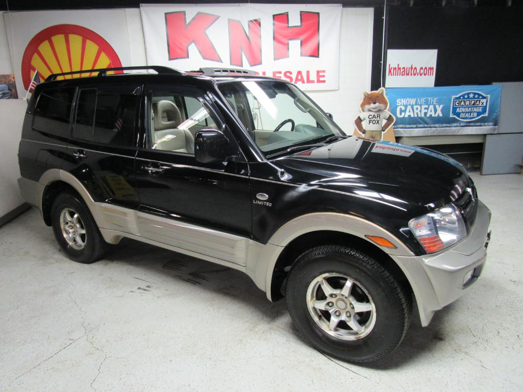 2002 MITSUBISHI MONTERO LIMITED for sale at KNH Auto Sales