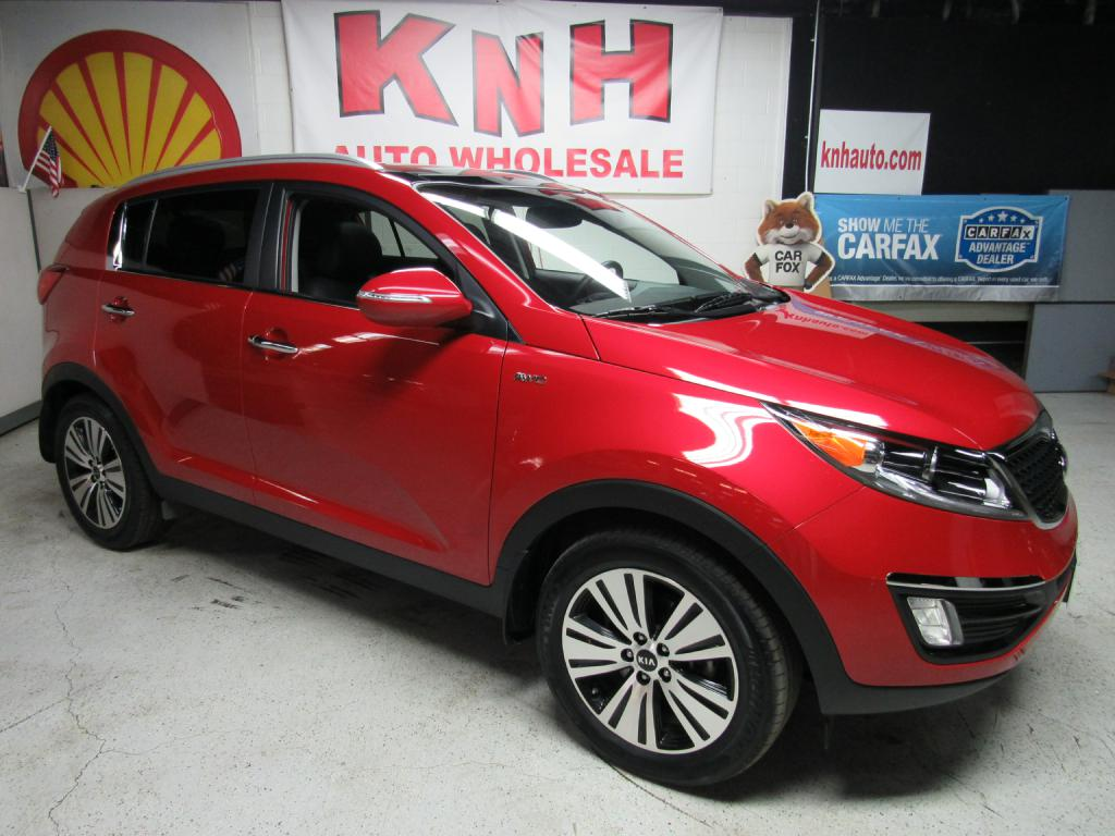 2014 KIA SPORTAGE EX for sale at KNH Auto Sales