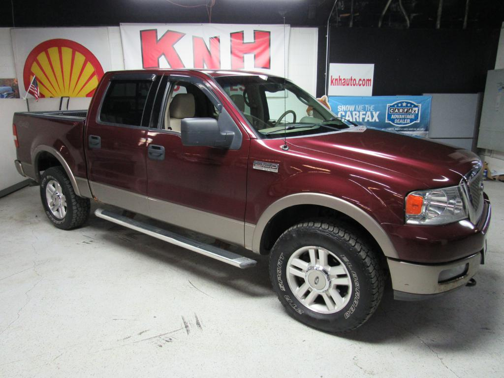2004 FORD F150 SUPERCREW for sale at KNH Auto Sales