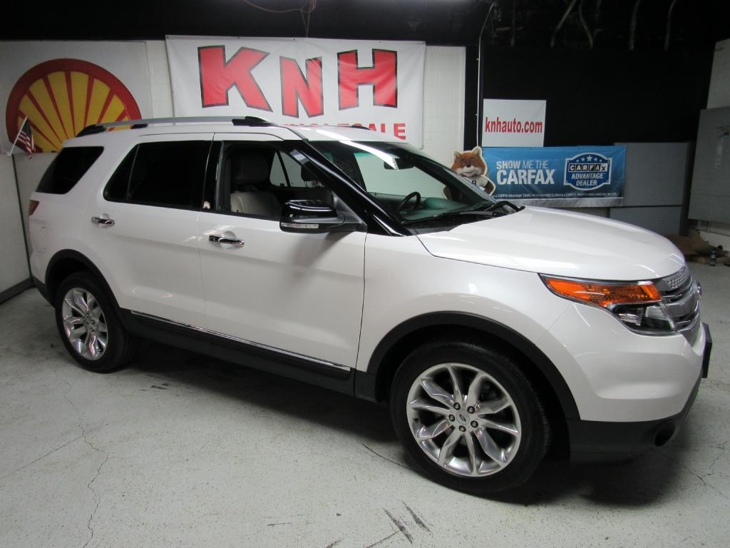 2015 FORD EXPLORER XLT for sale at KNH Auto Sales