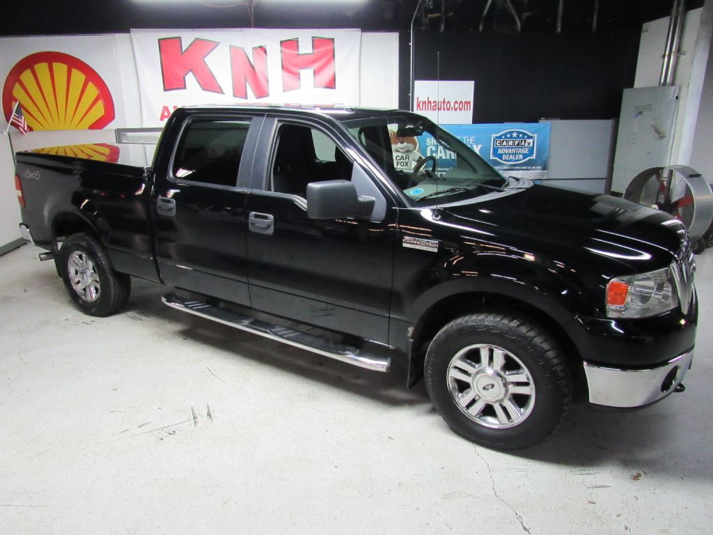 2008 FORD F150 SUPERCREW XLT for sale at KNH Auto Sales
