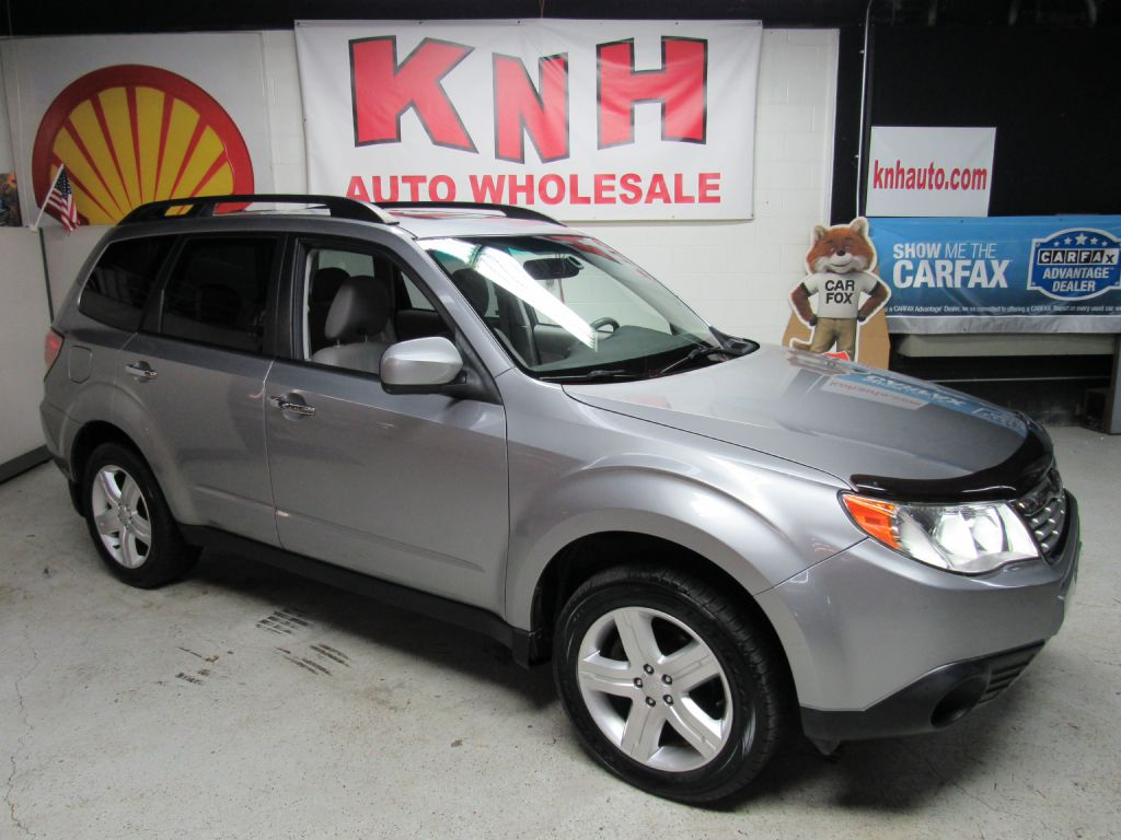 2010 SUBARU FORESTER 2.5X LIMITED for sale at KNH Auto Sales