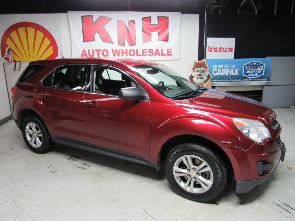 2010 CHEVROLET EQUINOX LS for sale at KNH Auto Sales