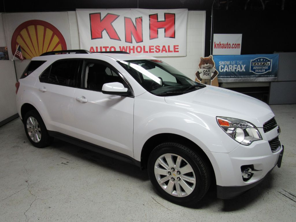 2011 CHEVROLET EQUINOX LT for sale at KNH Auto Sales