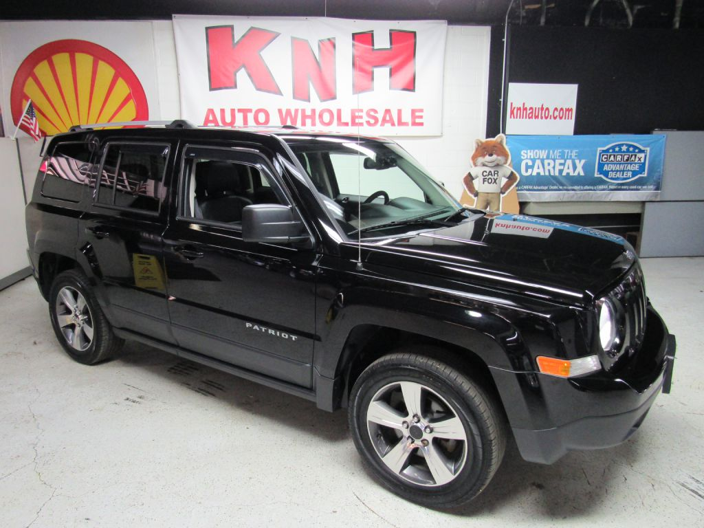 2016 JEEP PATRIOT LATITUDE for sale at KNH Auto Sales