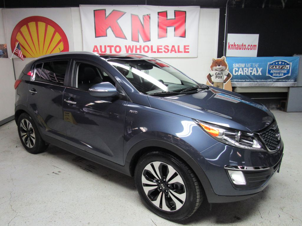 2012 KIA SPORTAGE SX for sale at KNH Auto Sales
